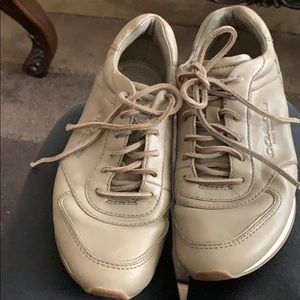 Coach olive green sneakers